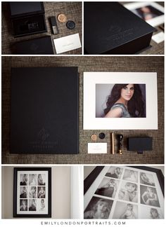 The beautiful products from a modern glamour photoshoot with Emily London Portraits in Utah.