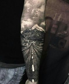 Pictures on request wolf fight tattoo - diy tattoo project Fight Tattoo, Leg Tattoos, Body Art Tattoos, Tatoos, Biker Tattoos, Tattoo Ink, Motorcycle Tattoos, Realism Tattoo, Forearm Tattoos For Guys