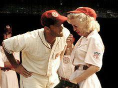 """Are you crying? There's no crying, there's no crying in baseball!"" (A League of Their Own)"