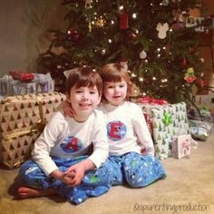 Our family pajamas were featured on Baby Center! #FamilyPajamaNight
