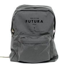 Backpack - Futura 1927 - Classic School Style Backpack Gray Girl Backpacks 4cd67d9a5602b