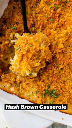 Delicious Breakfast Recipes, Dinner Recipes, College Recipes, College Meals, Hash Brown Casserole, Low Sodium Chicken Broth, Cooking Recipes, Healthy Recipes, Breakfast Time