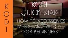 Here's a Kodi Quick Start guide that shows how to setup your Movies, Music, and Pictures for someone that has never used Kodi (XBMC) before. It also has a simple guide to setting up the Weather and how to change a skin.