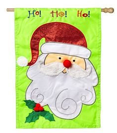 Santa Ho Ho Ho Regular Flag -- Be sure to check out this awesome product.