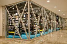 Livraria Vanguarda  - Pelotas. Arquiteto Rudelger Leitzke.