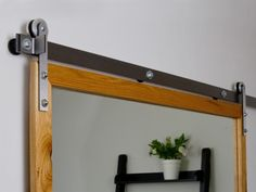Mini Barn Door Hardware | Rustica Hardware This Could Work For My Medicine  Cabinet