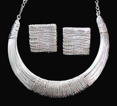 Choker Necklace in Silver
