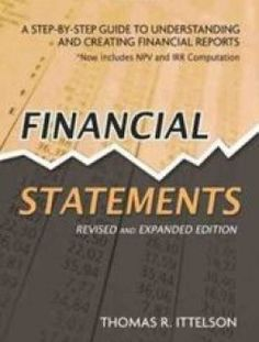 Financial Statements – A Step-by-Step Guide - Free eBook Online