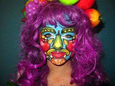 #fruit #facepaint #arcimboldo #colourful #makeup