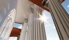 Residential Project in Brisbane, by Birchall & Partners Architects. Classic Columns detail. Architects Ipswich | Architects Brisbane | Architects Gold Coast Brisbane Architects, Architectural Columns, Gold Coast, Detail, Architecture, Classic, Projects, Home Decor, Arquitetura