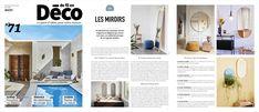 AYTM's Circum mirror featured in De Fil en Déco , No.71, 2020. Blogging, This Is Us, Mirror, House, Blog