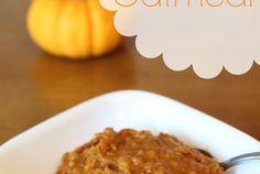 Overnight Pumpkin Crock Pot Oatmeal