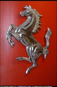 Cavallino rampante, Ferrari by Daniel Steger Car Badges, Car Logos, Ferrari Car, Ferrari Logo, Deadpool Wallpaper, Cool Sports Cars, Hood Ornaments, Supercars, Wood Art