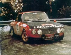 Lancia Fulvia Number 14 driven by Sandro Munari and Mario Manucci to win the 1972 Monte Carlo Rally. Sport Cars, Race Cars, Motor Sport, Monte Carlo Rally, Rally Raid, Gilles Villeneuve, Vintage Race Car, Car And Driver, Alfa Romeo