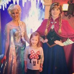 Meet Anna and Elsa of Frozen in Epcot at Disney Parks   #DisneyVacation by Joe Defazio, Magic Maker at Off to Neverland Travel - https://www.facebook.com/#!/MagicMakerJoe
