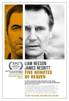 Five Minutes of Heaven #Movie #Poster Liam Neeson #yellow #gray