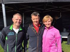 Crown Prince Frederik participated in the School Olympic Games at the stadium in Elsinore. 06/05/2015