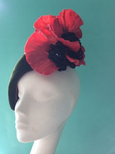 """Wendy Knight – Ireland, beret """"For George"""" (my favourite one) - the 2014 HATalk Hat Making Competition"""