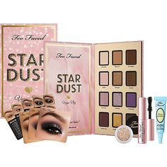 Too Faced Stardust by Vegas Nay Collection available August 23rd on Ulta.com and in store September 6th #toofaced #vegasnay4toofaced