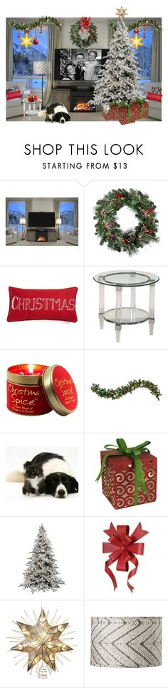 """""""It's A Wonderful Life..."""" by kimberlyd-2 ❤ liked on Polyvore featuring interior, interiors, interior design, home, home decor, interior decorating, Altra, Levtex, Basset Mirror Company and Lily-Flame"""