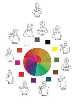 Kleuren in gebaren