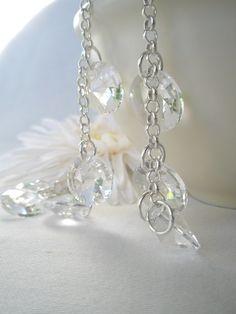 Armbånd i sølv og blanke krystaller - dinbod.no