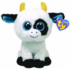 "Ty Beanie Boos Daisy the Cow Plush. Landon LOVES these, he almost has them all. They are his ""pets"""