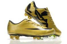 Nike CR Mercurial Vapor Superfly III FG Safari - Gold Black