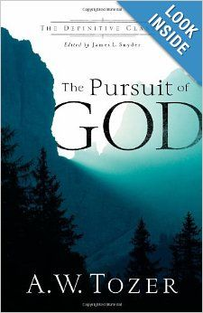 The Pursuit of God (The Definitive Classic) eBook: A. Tozer, James L. Snyder: Books, One of my all time favorites. Tozer's writing style makes it easy for me to soak up his wisdom. All his titles are very worthwhile, but this is my favorite. Z Book, Top Reads, Reading Library, Best Books To Read, Writing Styles, Lus, Book Nooks, Book Gifts, Book Recommendations