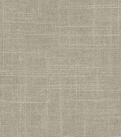 Upholstery Fabric-Robert Allen Linen Slub-Brindle