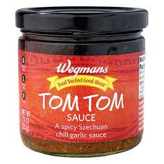 Wegmans- Chili Garlic Szechuan Tom Tom Sauce (7.5 oz.)