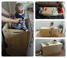 Probando: Pack Montessori de Woomo – Testing: Montessori pack by Woomo Montessori Baby Toys, Montessori Activities, Learning Tower, New York Hotels, Astoria Hotel, Play Spaces, Baby Play, Ikea Hack, Baby Room