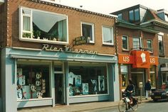My Town, Holland, Nostalgia, Street View, Country, Places, Outdoor Decor, Netherlands, Home Decor