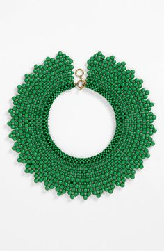 Natasha Couture Beaded Collar Necklace