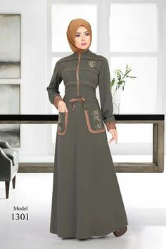 Long Skirt Fashion, Abaya Fashion, Fashion Dresses, Muslim Dress, Hijab Dress, Islamic Fashion, Muslim Fashion, Hijabi Gowns, New Hijab