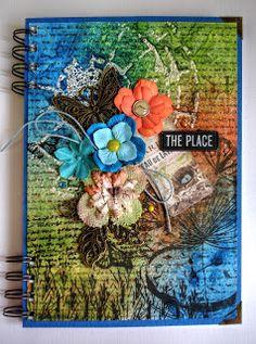 Zápisník / Zboží prodejce ArtCentrum M. Mix Media, Scrapbooks, Decoupage, Notebook, Stamp, Cover, Cards, Painting, A5