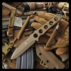 PDW Special Projects Division Griffin™ in FDE CeraKote.