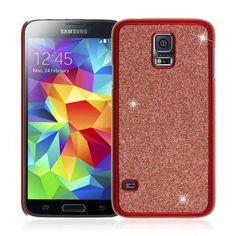 3f902c04066 Samsung Galaxy S5 / GS5 - Dotted Glitter Glam Red (EMPIRE GLITZ Slim-Fit  Case)