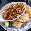 Fresh local seafood at McElroy's in Ocean Springs MS. Always delicious. Very friendly staff.