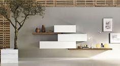 Il Sistema 36e8 Lago è un sistema modulare di design che permette di progettare in libertà il salotto, la camera da letto e le altre aree della casa.