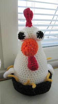 """A chicken by """"puikoissa ja koukussa"""" blogger"""