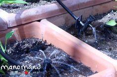 How to Install a Drip Irrigation System - The Handy Mano - How to Install a Dri. - How to Install a Drip Irrigation System – The Handy Mano – How to Install a Dri… # - Bottle Garden, Garden Bar, Herb Garden, Plastic Bottle Greenhouse, Plastic Bottles, Plastic Ware, Outdoor Pallet Bar, Diy Pallet, Garden Pallet