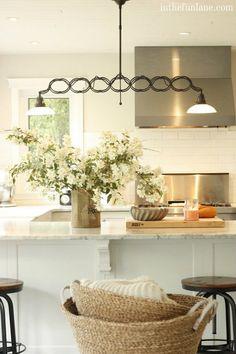 Summer kitchen white