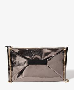Metallic Envelope Clutch | FOREVER21 - 1021840459