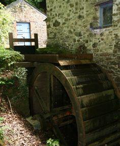 Boyton Mill, Boyton, Devon....love this  old watermill