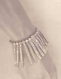 Coco Chanel, Circa 1932 #chanel #diamond #bracelet #vintage #fine #jewelry #collection | #edithann