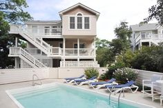 Starfish | Corolla Rentals | Village Realty. Starfish is a pet friendly, soundfront home in Corolla Light. 14 x 28 private pool and hot tub.  What is your pleasure - Volleyball, basketball, swimming maybe some tennis? Corolla Light offers all these amenities and more including trolley service to the beach (In Season).  Gracious southern living is in abundance here, with your family's comfort and relaxation always a consideration. Non-Smoking.