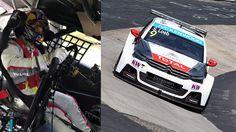 Sébastien Loeb arrepia em Nordschleife nos preparativos para o WTCC em Nürburgring: Sébastien Loeb ainda está longe de terminar sua carreira, mas já entrou para a história como um dos maiores pilotos de todos os tempos. E não foi só por ter vencido nove vezes o mundial de rali. Ele também foi a Pikes Peak e mostrou como se pilota em subidas de montanha, na beira de um penhasco, e agora está fazendo bonito nos carros de turismo. Prova disto é este onboard de Loeb no Nürburgring Nordschleife…