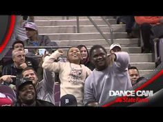 WATCH: Detroit Pistons Dance Cam Features Epic Battle Beween Fan, Usher