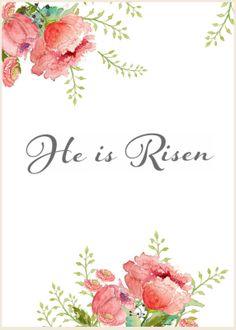 Craftberry Bush: Free Watercolor Easter Printable